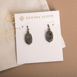 Kendra Scott Lee Drop Earrings In Black Drusy
